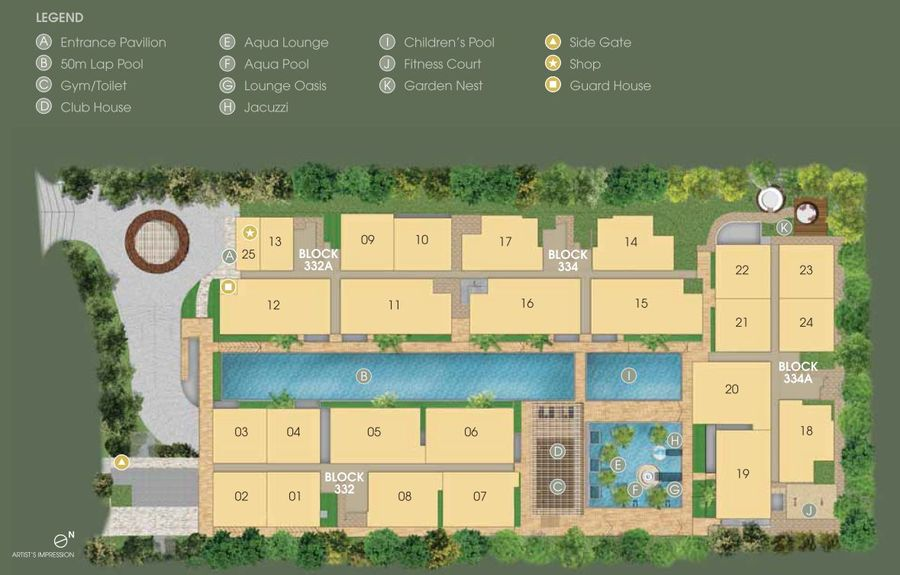 WhiteHaven Site Plan 900