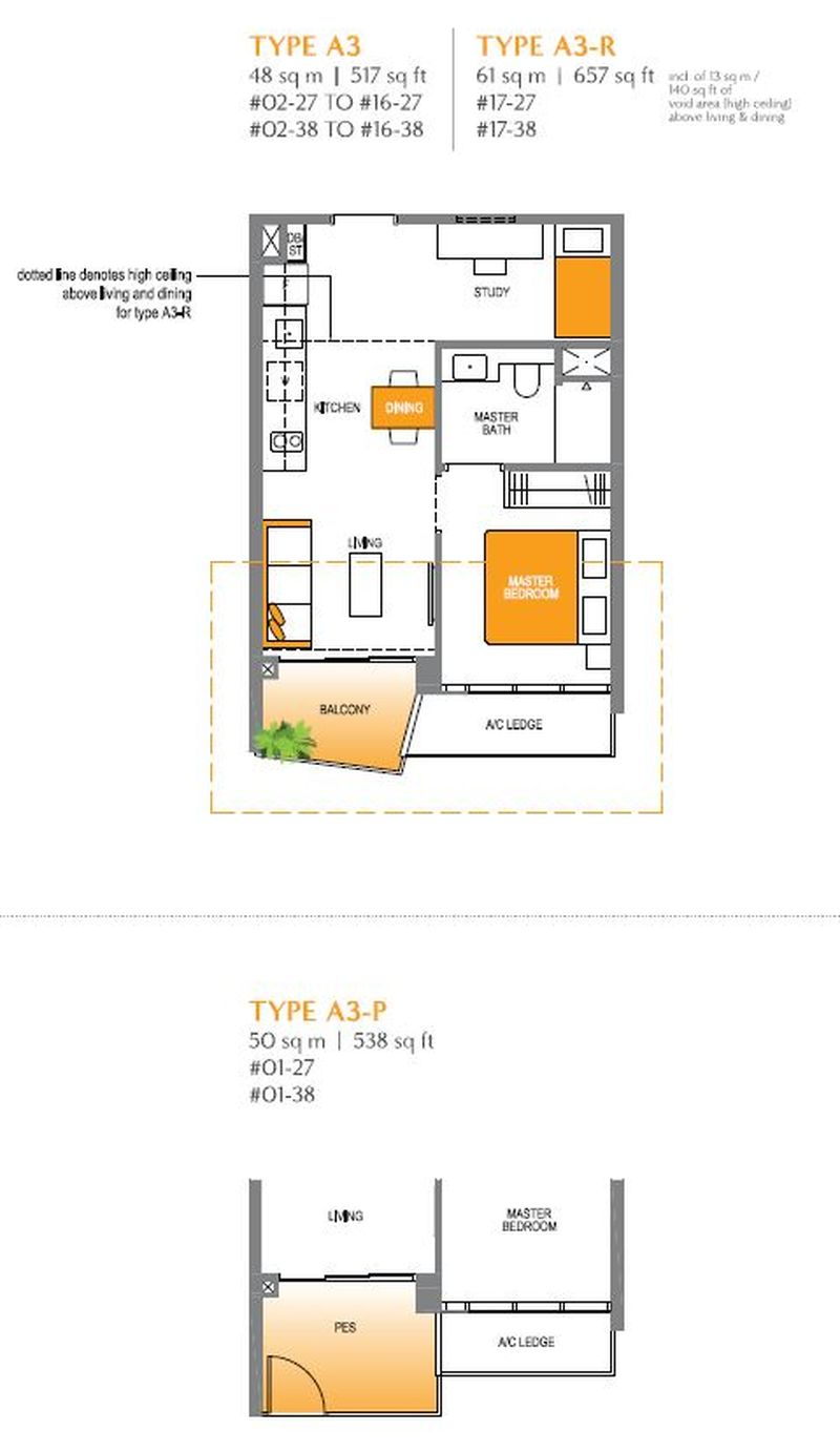 lake-grande-condo-1-bedroom-plus-study-a3