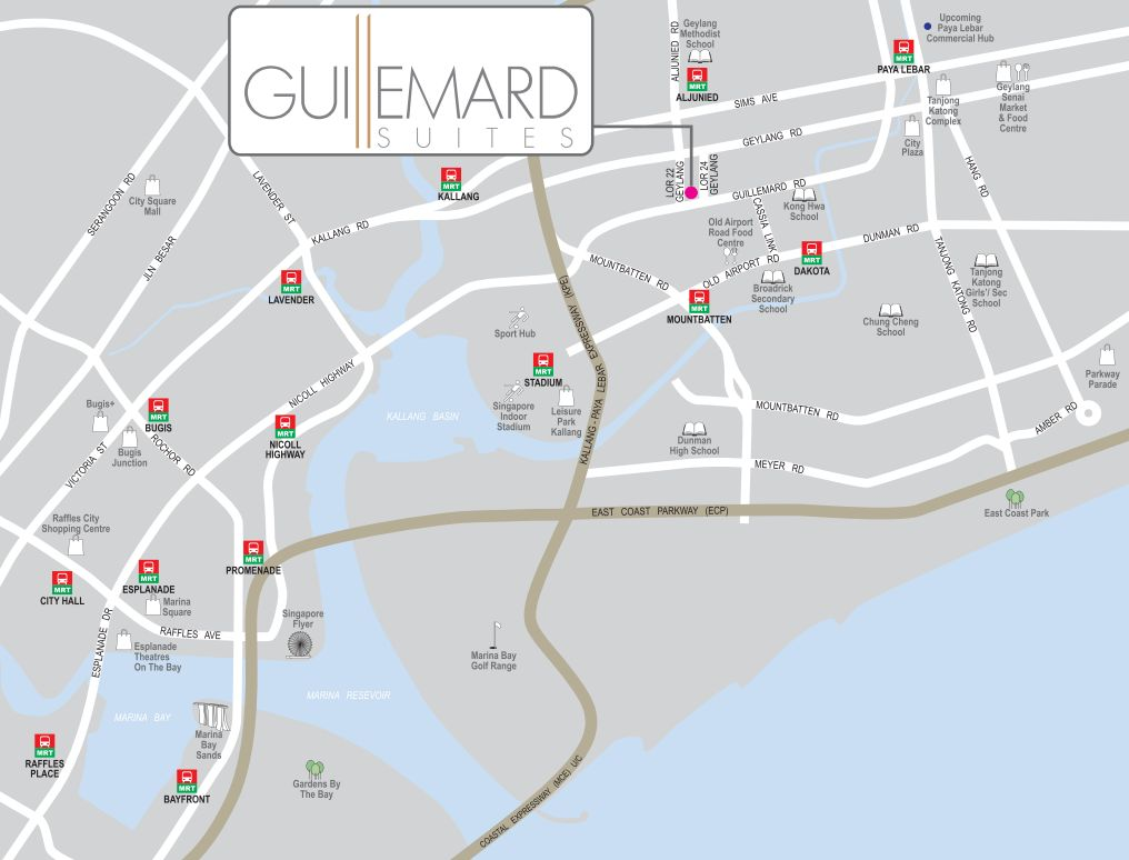 Guillemard Suites location