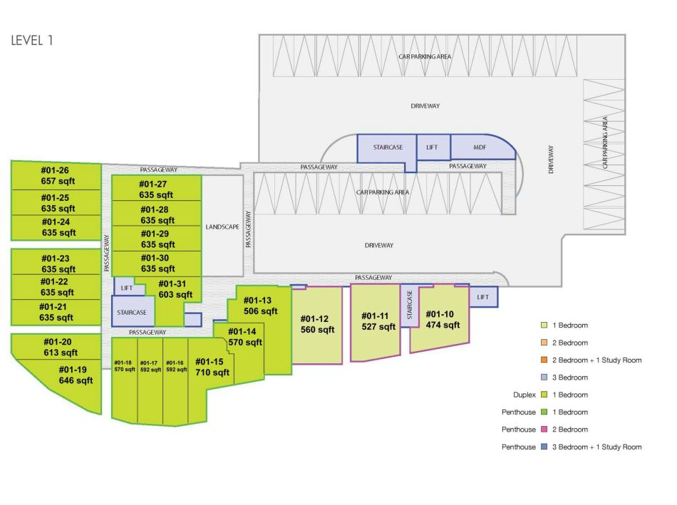 site plan unit no