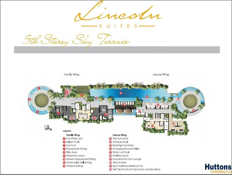 Lincoln Suites 5th Storey Sky Terrace 900