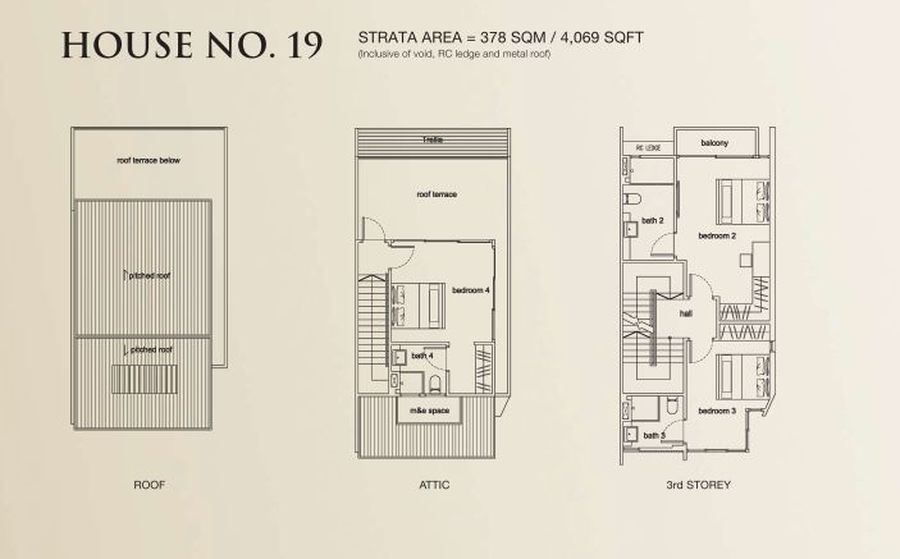 terra villas sample floor plan 900