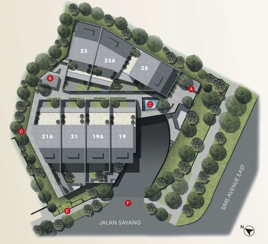 terra villas site plan 900